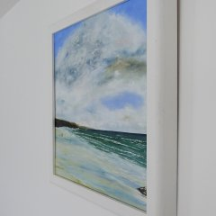 Buy Cornish Art Phil Ford Clouds Over Constantine Bay Side View
