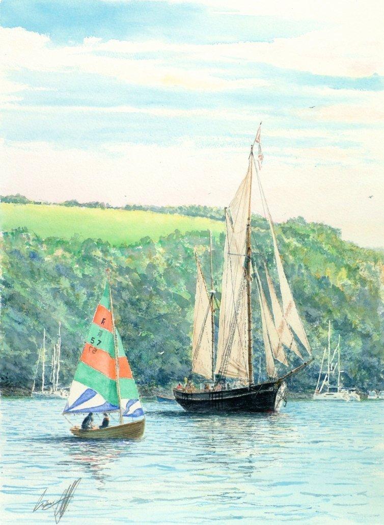 Buy Cornish Art Richard Cliff Bessie Ellen