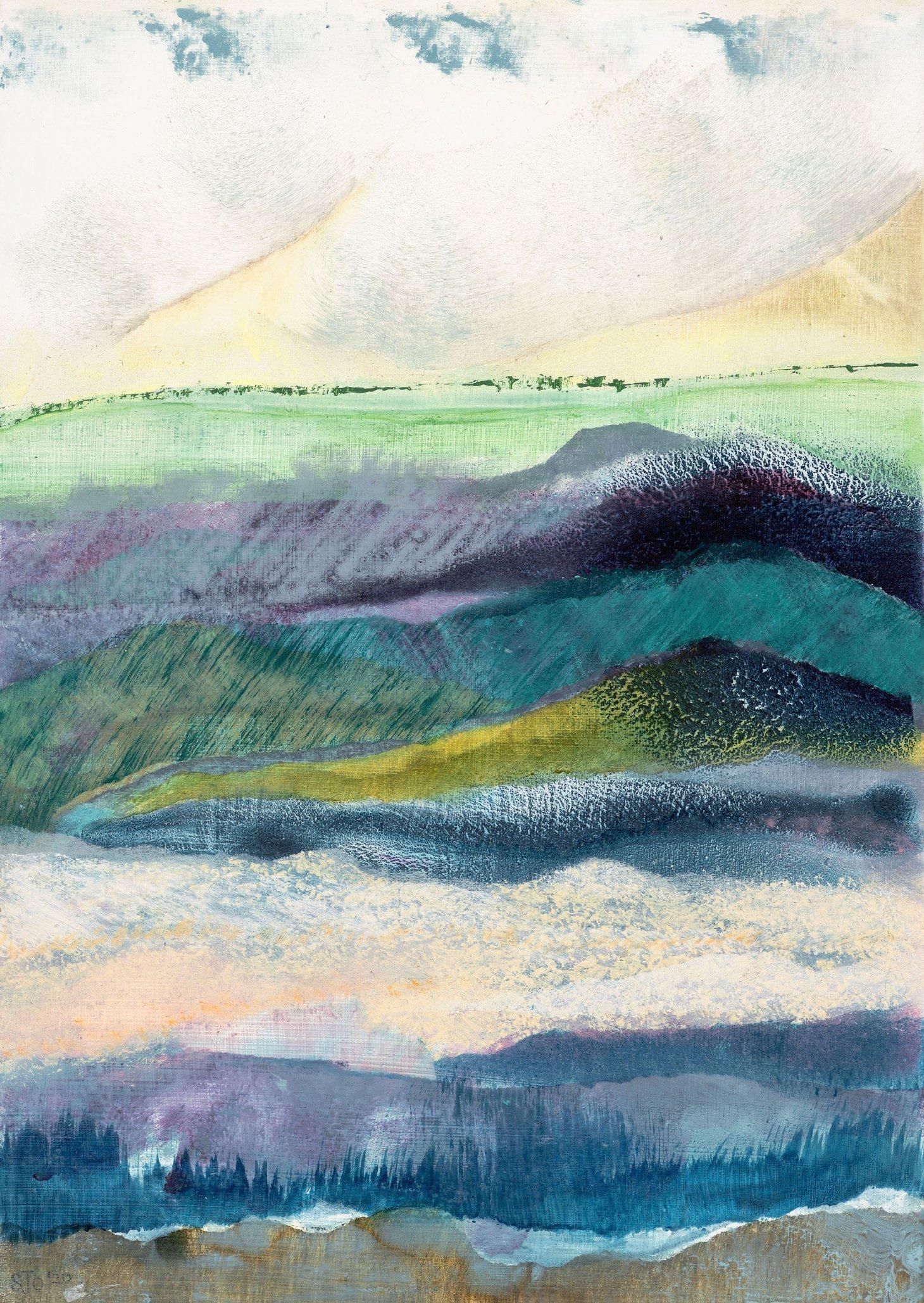 Buy Cornish Art Sara Owen Low Tide Teignmouth