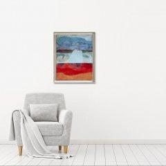 Buy Cornish Art Sara Owen Pebbles Pendower Beach In Situ