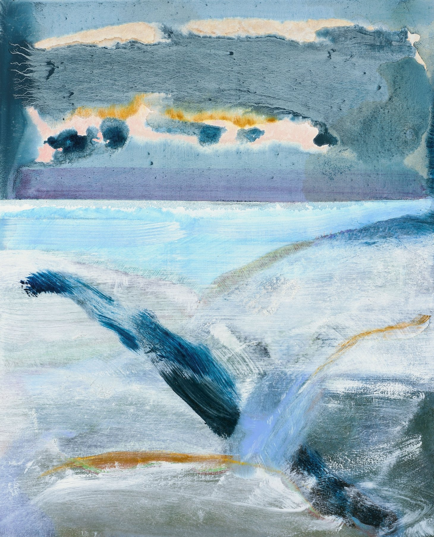 Buy Cornish Art Sara Owen Sunrise On Fields Of Snow Primary