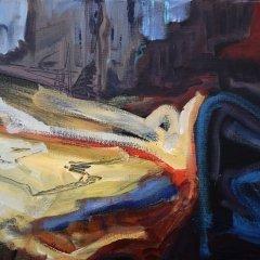 Buy Cornish Art Tony Minnion At The Base Of The Cliff Cligga Cove Detail
