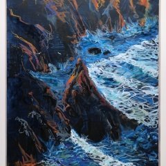 Buy Cornish Art Tony Minnion Cligga Cove Waves Primary