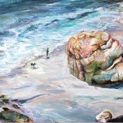 Buy Cornish Art Tony Minnion Porth Nanvern Detail