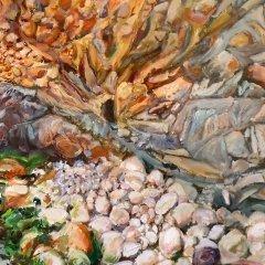 Buy Cornish Art Tony Minnion Porth Nanvern Detail2