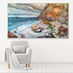 Buy Cornish Art Tony Minnion Porth Nanvern In Situ