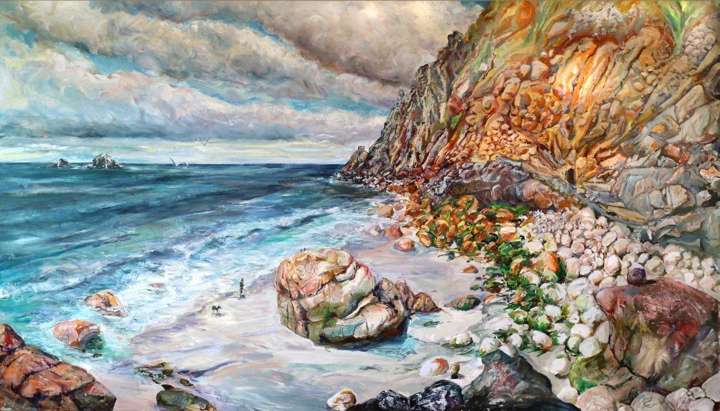 Buy Cornish Art Tony Minnion Porth Nanvern Primary 1