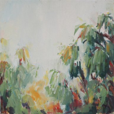 Buy Cornish Art Victoria Gillow Cornish Eucalyptus Soft Gold