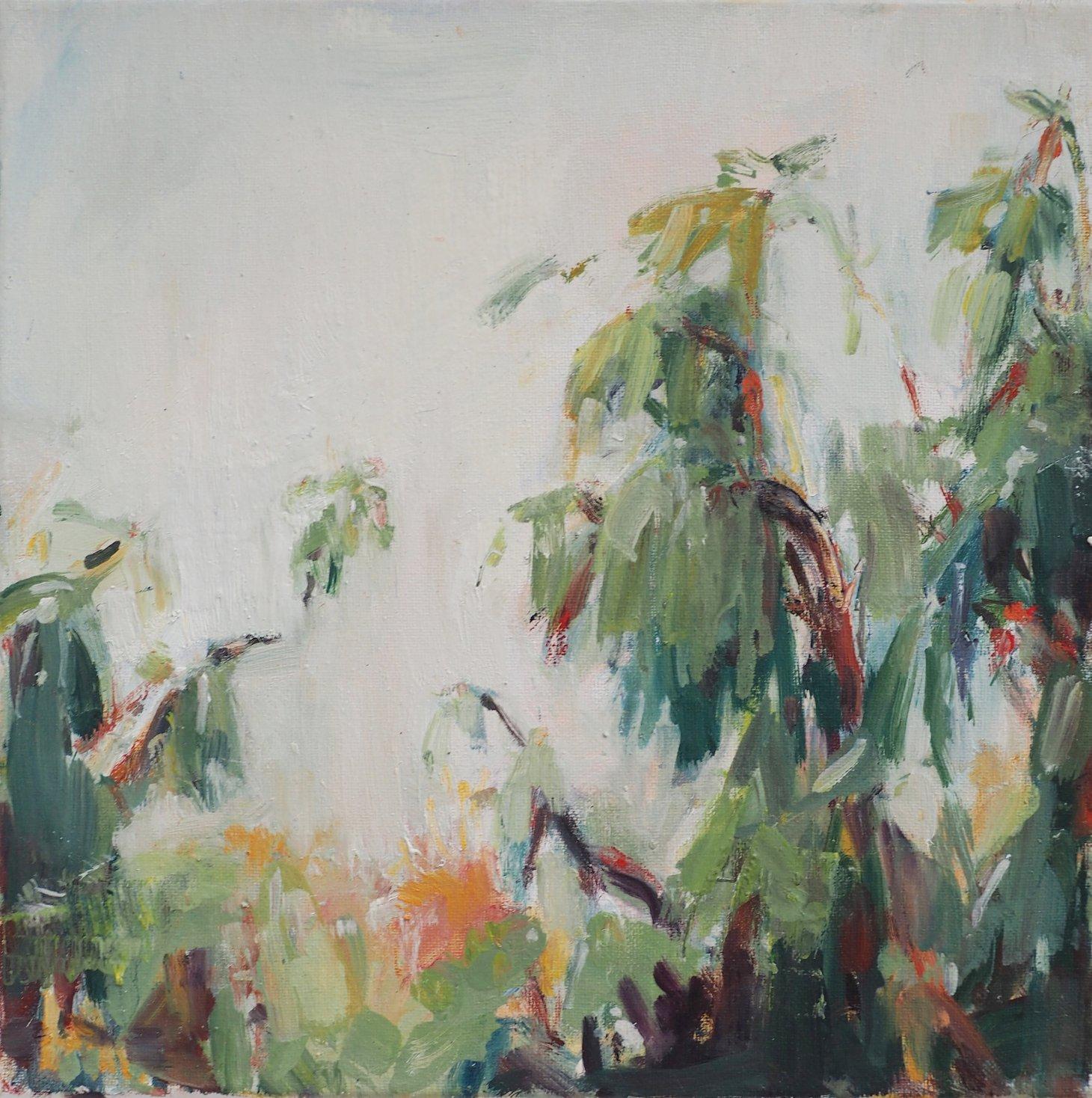 Buy Cornish Art Victoria Gillow Cornish Eucalyptus Soft Soft Green