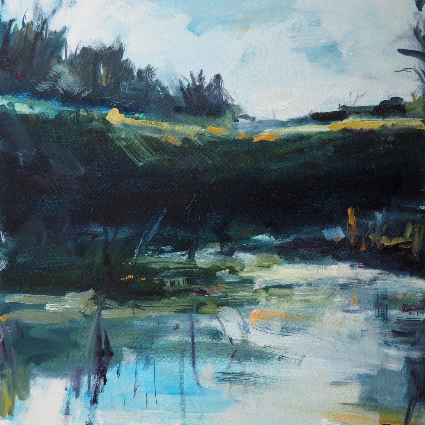 Buy Cornish Art Victoria Gillow Deep Pool Situ