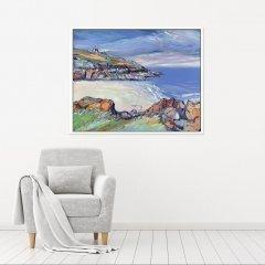 Buy Original Art Joe Armstrong Porhtgwiiden Greek Blue Sea In Situ