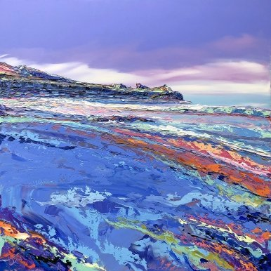 Buy Original Art Joe Armstrong Porthmeor Blue Haze