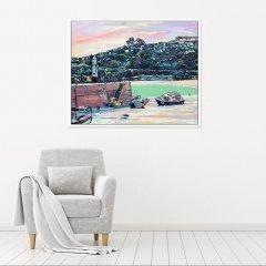Buy Original Art Joe Armstrong St Ives Smeaton's Pier In Situ