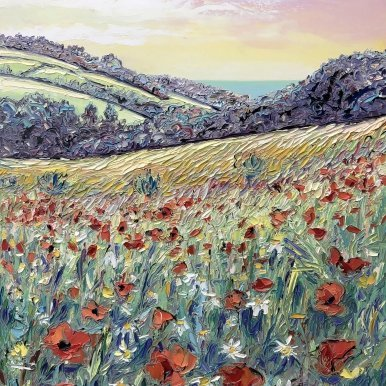 Buy Original Art Joe Armstrong Wild Poppies