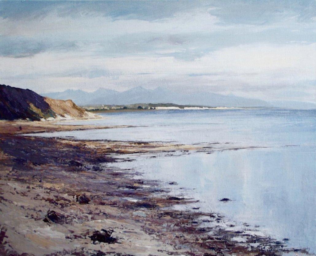 Caroline Atkinson Cornish Galleries Along The Shore Buy Rent Original