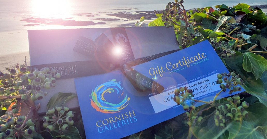 Original Cornish Art Gift Certificate 2