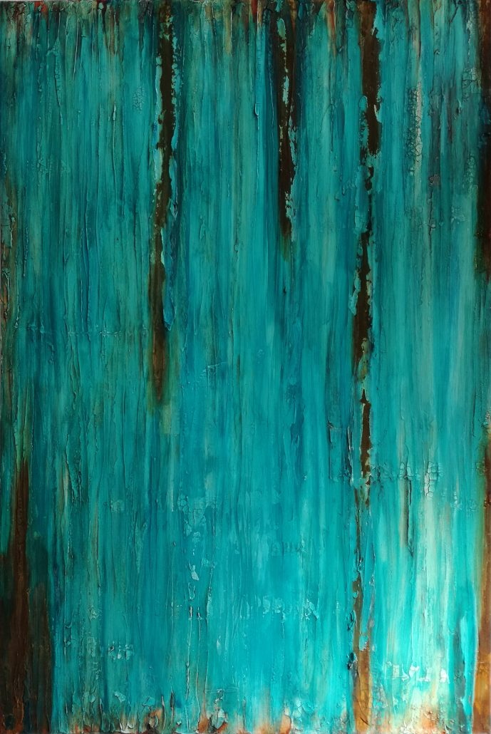 Shelly Cook Evolving Canvas Acrylic Texture Paint Abstract Medium
