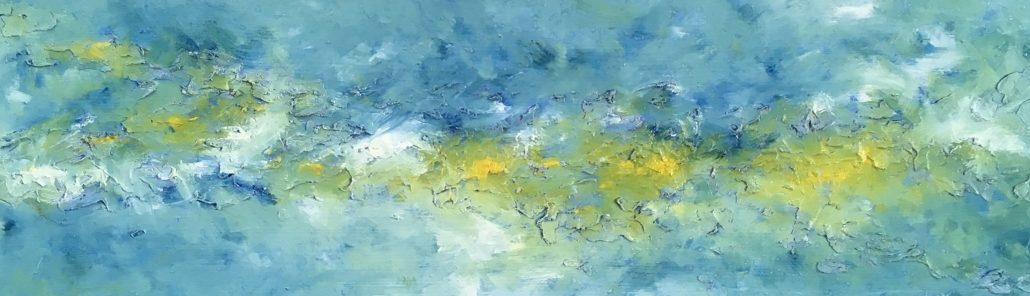 Simon Hartles - Morning Light Down Cant Say Cove - Oils, Acrylics, Spray paints, Inks, Varnishes, Clays, Oxides - Board - Medium